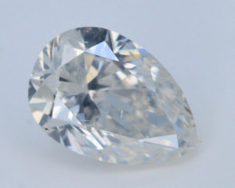 Top Color 0.65 ct Round Brilliant Cut Whie Diamond
