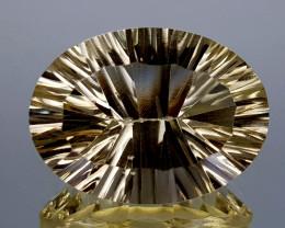 16Crt Concave Cut Lemon Quartz Natural Gemstones JI121