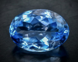 5.49 Crt Natural Topaz  Faceted Gemstone.( AB 74)