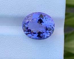 Natural Tanzanite 8.44 Cts Top Grade  Faceted Gemstone