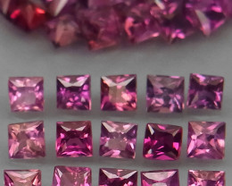 50Pcs/3.92Ct. / 2.2  mm Fancy Color UNHEATED Natural Sapphire Songea
