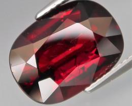 8.39 Ct. Outstanding Color! Natural BIG Red Spessartite Garnet Africa