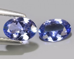 1.30 CTS~BEST-GRADE-SPARKLING-RARE-NATURAL-TANZANITE-OVAL-EXCELLENT~
