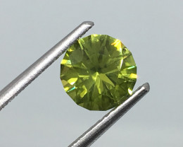 ⭐️SALE 1.26 Carat VVS Peridot Master Cut Unheated Brilliant Quality !