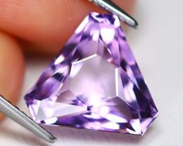 Amethyst 4.93Ct VVS Master Cut Natural Bolivian Purple Amethyst A3013