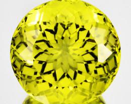 ~CUSTOM CUT~ 15.85Cts Natural Lemon Quartz Mind Blowing Round Brazil