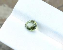 1.65 Ct Natural Green Transparent Pear Cut Tourmaline Gemstone