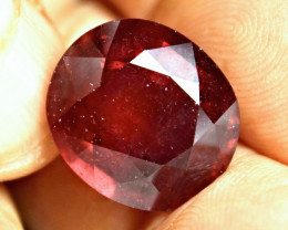 CERTIFIED - 19.77 Carat Fiery Red Ruby - Gorgeous