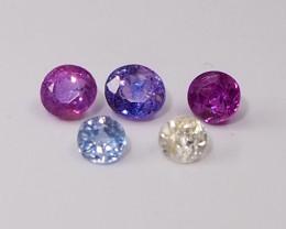 1.38ct unheated sapphire