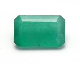 3.64 ct Zambian Emerald - IGI Certificate
