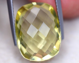 9.98ct Natural Lemon Quartz Octagon Cut Lot GW8243