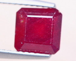 2.81ct Mozambique Ruby Square Cut Lot GW8247