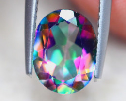 1.89ct Natural Mystic Topaz Oval Cut Lot GW8248