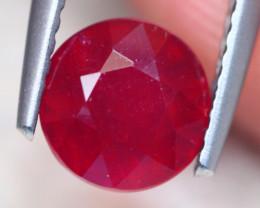 2.08Ct Mozambique Ruby Round Cut Lot LZ7613