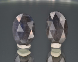 Natural Sapphire Pair 9.15 Cts. From Afghanistan