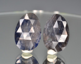 Natural Sapphire Pair  11.03 Cts From Afghanistan