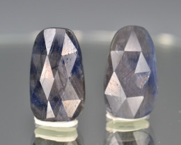 Natural Sapphire Pair 11.09  Cts From Afghanistan