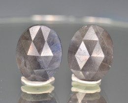 Natural Sapphire Pair 14.89 Cts From Afghanistan