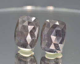 Natural Sapphire Pair 15.64 Cts From Afghanistan