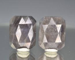 Natural Sapphire Pair 21.82 Cts From Afghanistan