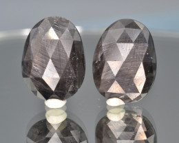Natural Sapphire Pair 25.43 Cts From Afghanistan