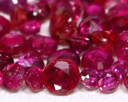 2.07Ct 2.1mm Burmese Ruby Natural Blood Red Ruby B0106