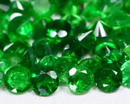 2.86Ct Calibrate 2.2mm Natural Green Color Tsavorite Garnet Lot C0216