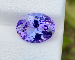 Natural Tanzanite 3.27 Cts Top Grade  Faceted Gemstone