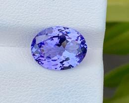 Natural Tanzanite 3.32 Cts Top Grade  Faceted Gemstone