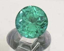 Pretty Blueish Green Custom Cut Apatite - Madagascar