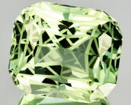~CUSTOM CUT~ 11.44 Cts Natural Prasiolite / Amethyst Fancy Cut Brazil