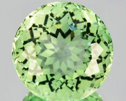 ~CUSTOM CUT~6.37 Cts Natural Prasiolite / Amethyst Fancy Cut Brazil