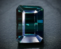 1.29 Crt Natural Tourmaline   Faceted Gemstone.( AB 75)