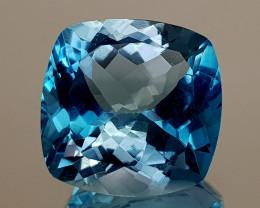 18.45Crt Natural Blue Topaz Natural Gemstones JI122