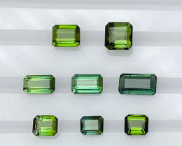 Natural Green Tourmaline 7.85 Cts Amazing Parcel