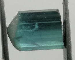 Tourmaline, 2.05ct, deep blue like the ocean, typical indicolite!