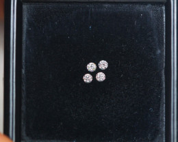 1.50mm Natural Light Pink To White Diamond Clarity VS Lot A1217