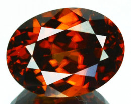 ~BEAUTIFUL~ 2.82 Cts Natural Imperial Color Zircon Oval Cut Tanzania