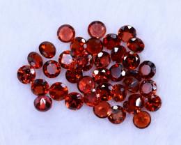 12.62cts Natural Orangish Red Spessartite Garnet Lots / MA1133