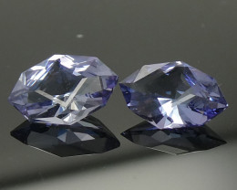 1.42ct Marquise Tanzanite Precision Cut Pair