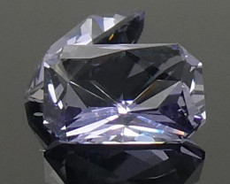 1.56ct Octagonal Tanzanite Precision Cut Pair