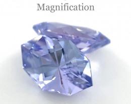 1.46ct Marquise Tanzanite Precision Cut Pair