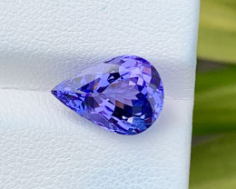 Natural Tanzanite 4.27 Cts Top Grade  Faceted Gemstone