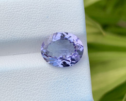 Natural Tanzanite 4.34 Cts Top Grade  Faceted Gemstone