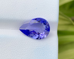 Natural Tanzanite 4.37 Cts Top Grade  Faceted Gemstone
