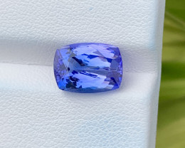Natural Tanzanite 4.52 Cts Top Grade  Faceted Gemstone