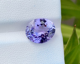 Natural Tanzanite 4.58 Cts Top Grade  Faceted Gemstone
