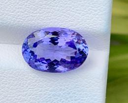 Natural Tanzanite 5.28 Cts Top Grade  Faceted Gemstone