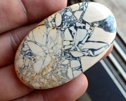 93 Ct Natural Malinga Jasper Cabochon Genuine Gemstone VA3089