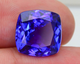 Tanzanite 8.65 ct eye catching Color